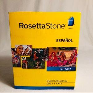 NIB Rosetta Stone Spanish Language Levels 1-5